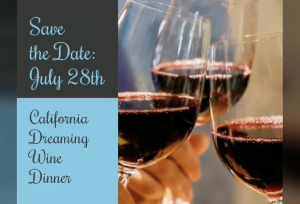 California Dreaming Wine Dinner
