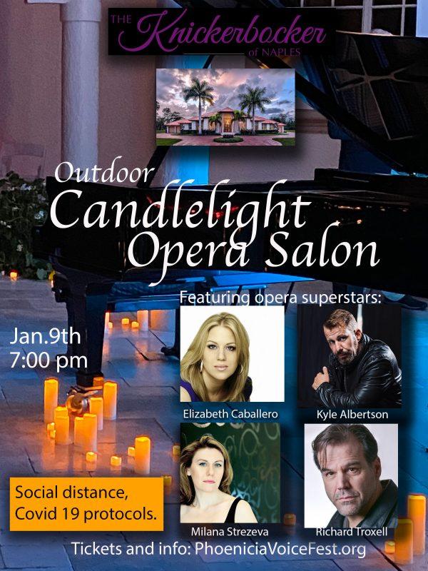 Outdoor Candlelight Opera Salon