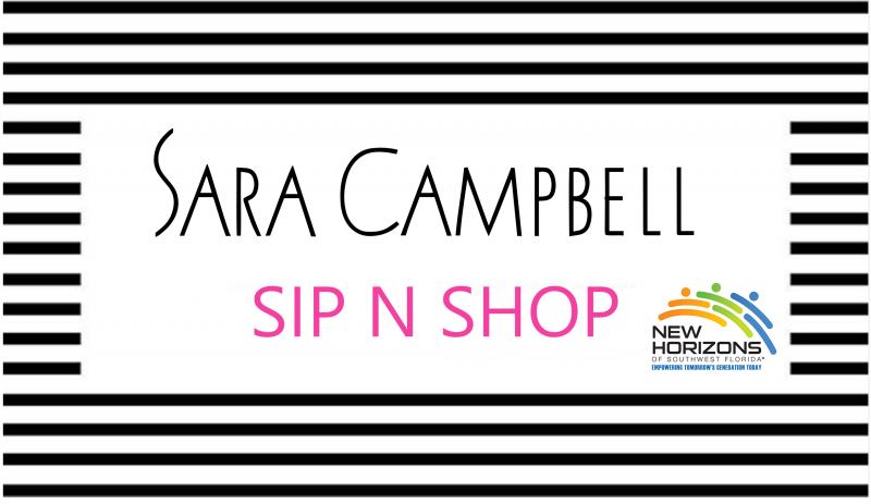 Sara Campbell Sip 'N Shop