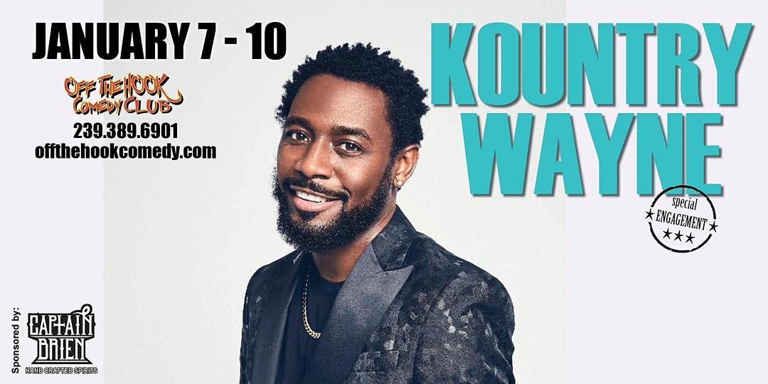 Comedian Kountry Wayne