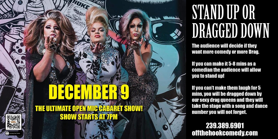 ultimate cabaret comedy open mic