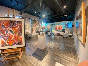 Celebrate Artist Joan Sonnenberg's 90th birthday at Emillions Art