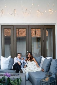 Ben and Shannon Fleischer spend lots of time together on their lanai, Photo by Vanessa Rogers
