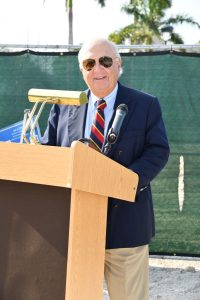 John Cardillo, Esq., board chairat the Neighborhood Health Clinic groundbreaking ceremony