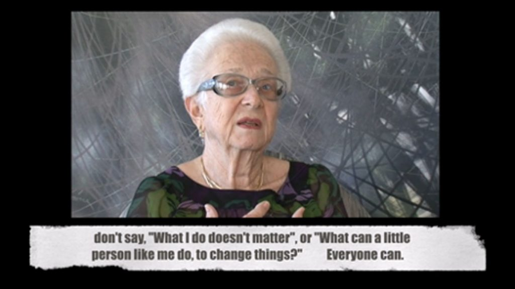 Lorie Mayer, the late local Holocaust museum co-founder and original curator