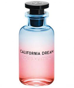 Louis Vuitton California Dream Fragrance, bottle design by Alex Israel