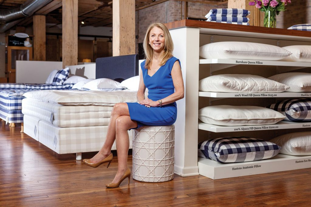 Mary Pat Wallace, The Luxury Bed Collection, Naples