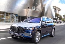 Mercedes-Maybach 600GLS Front