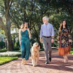 Randy Kurtz, daughters Elizabeth and Carolyn, and Bentley Photos by Vanessa Rogers