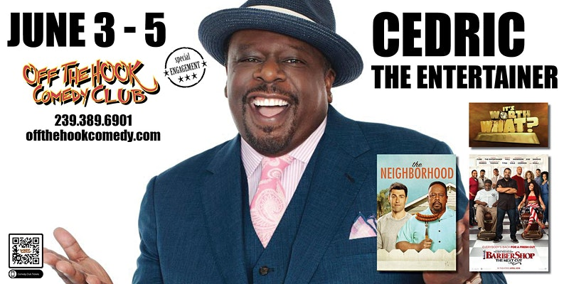 Comedian Cedric The Entertainer
