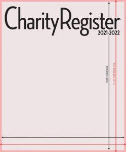 Charity Register Mockup