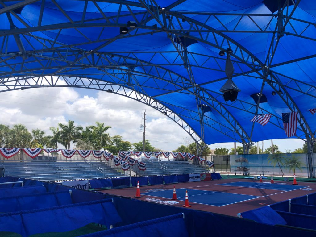 East Naples Pickleball Court, photo by Maddie Laufer