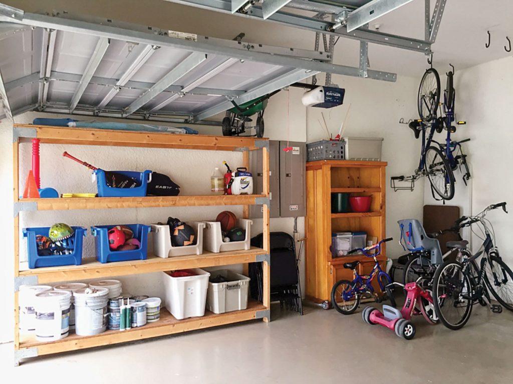 Garage organization by Marla Ottenstein
