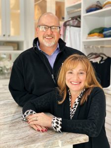 H.L. and Kerry Burkley of Inspired Closets Southwest Florida and Total Garage Concepts