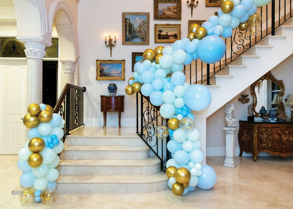 It's A BOY! balloons by Ascent by Loretta