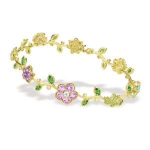 Shannon Green Collection, Naples Design District, Paul Morelli's Wild Child link bracelet ($12,800)