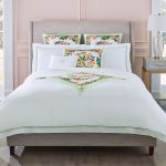 The Luxury Bed Collection, Sferra ($695-$2,795) featuring Moda Vivid blooms, Naples Design District