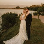 Naples locals Contessa and Ethan Williams decided upon the White Orchid at Oasis in Fort Myers for their wedding ceremony and reception, citing the location's water views as a top draw.
