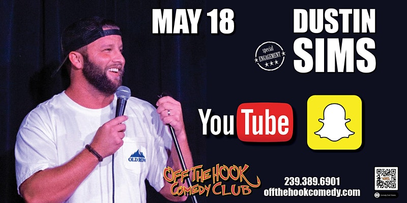 Comedian Dustin Sims