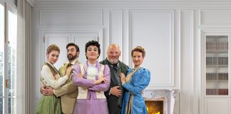 An Ideal Husband will run at the Tobye Studio Theatre from May 19-June 13. Image courtesy of The Naples Players