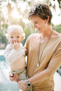 Cullen Daane with son Briggs