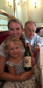 Erin and Jon Lail with Erin's niece Wells Casten.