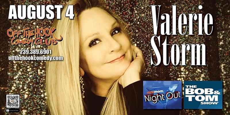 Comedian Valerie Storm
