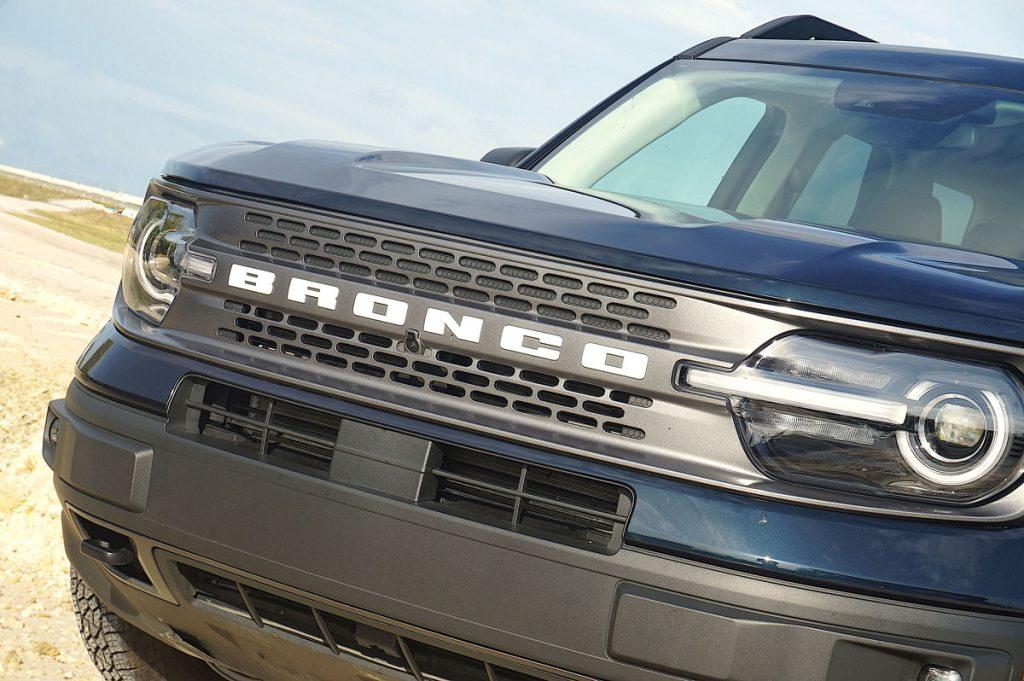 2021 Ford Bronco Sport logo grille