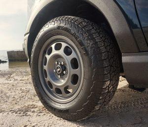 2021 Ford Bronco Sport wheels