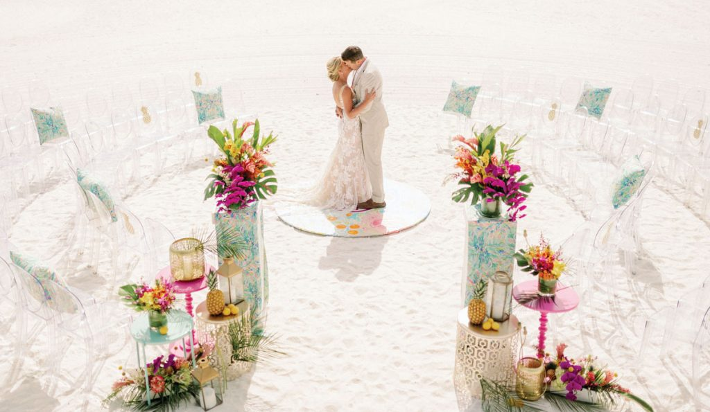 Carrie Darling advocates for embracing unique ceremony layouts. Photo by Hunter Ryan Photo