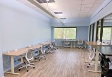 Collier Capital Club co-working space can help support remote work mental health