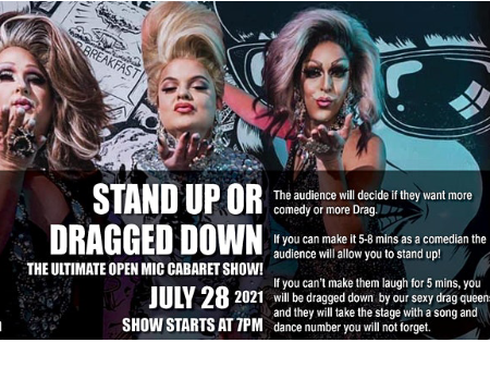 Stand Up or Get Dragged Down