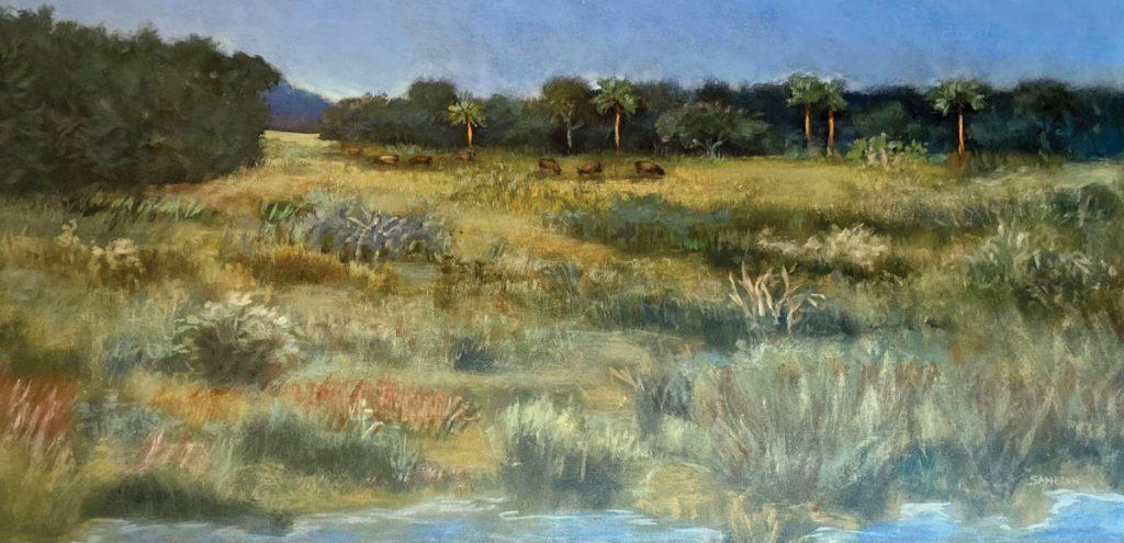 Florida Pastoral by Jo-Ann Sanborn