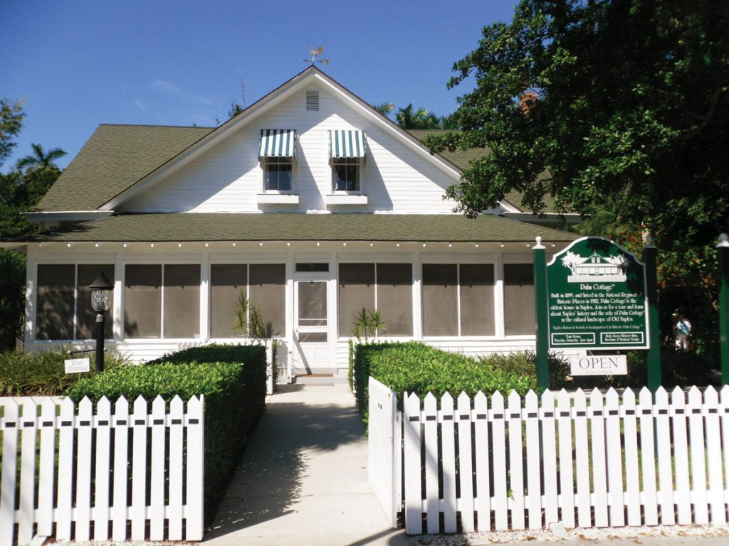 Historic Palm Cottage OPEN