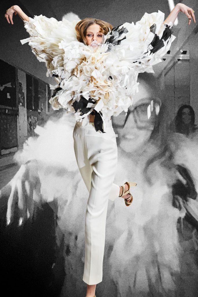 Spring 2021 Haute Couture Flying Bird jacket, RVDK Ronald Van Der Kemp, photo by Marijke Aerden