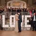 Stephanie and Ali Antoniou-designed wedding, Photo by Aislinn Malayter Timmons