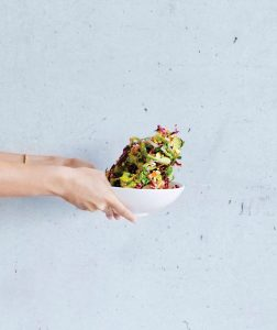 Chopped Salad for Lunch at SAM Bistro