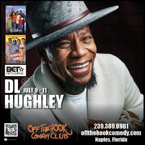 Comedian D.L. Hughley Live