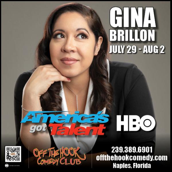 Comedian Gina Brillon Live