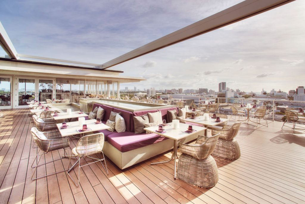 Juvia Miami Beach rooftop