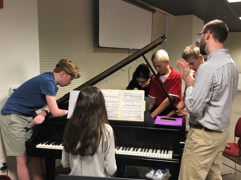 Music students, Southwest Florida Music Education Center