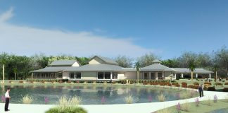 Rendering of the Southwest Florida Music Education Center