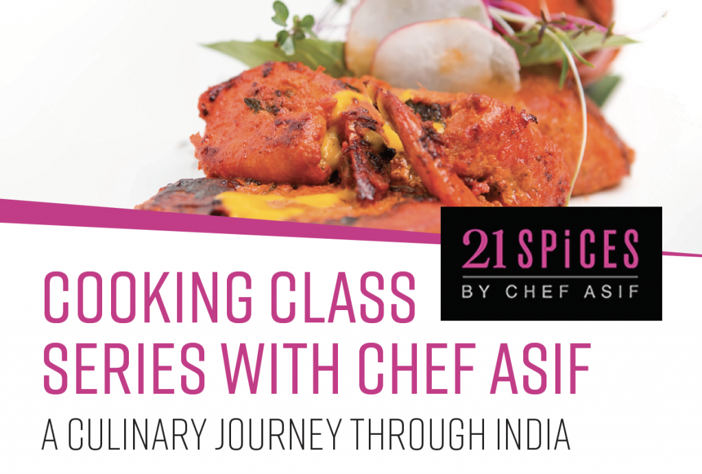 Cooking Classes with Chef Asif