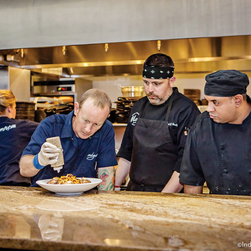 Indigenous chef-owner Steve Phelps