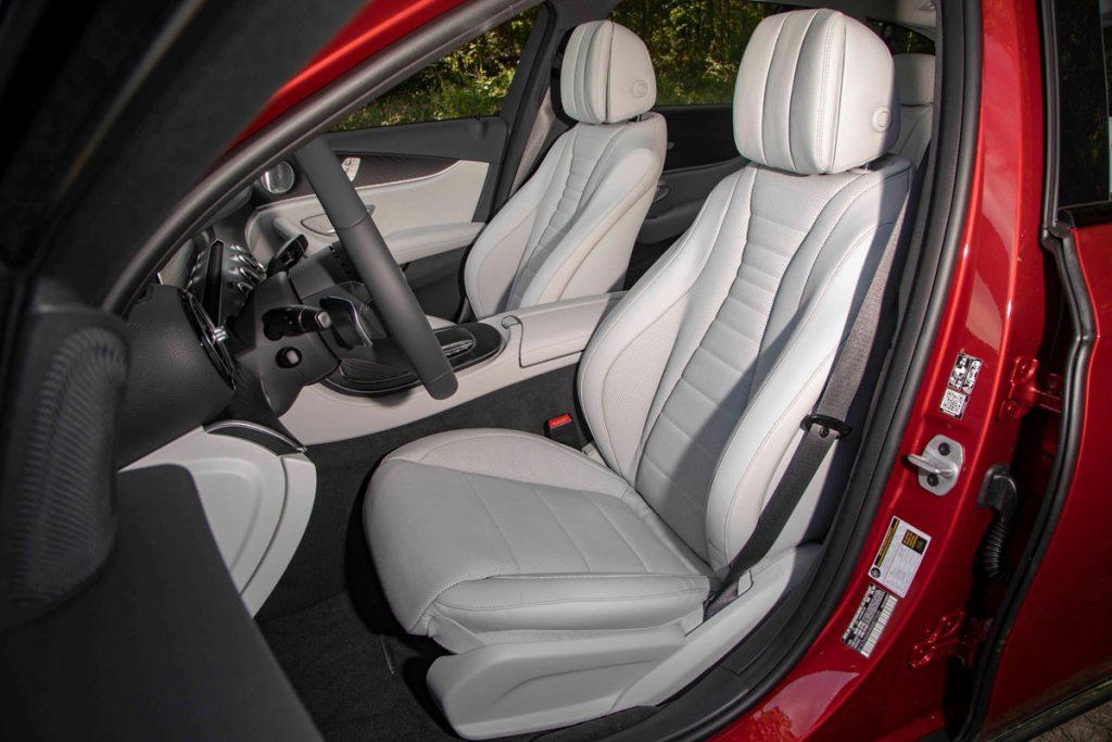 2021 Merc E450 4Matic All-Terrain front seats