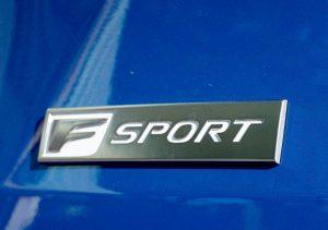 Sport logo 2022 RX350 Black Line