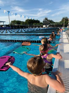 A children's swim class at Naples Swim School. Photo by Mary Navidonski