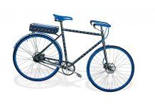 Bike GM closed frame in Jacquard Since 1854 monogram ($28,900), Louis Vuitton, Naples