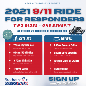 Rally for First Responders