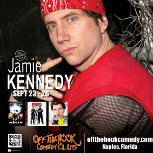 Comedian Jamie Kennedy
